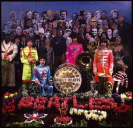 Beatles 34 - The photo session for the Sgt. Pepper cover took place 1967