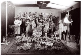 Beatles 374 - March 30, 1967 the photo shoot for the 'Sgt. Pepper' album cover.