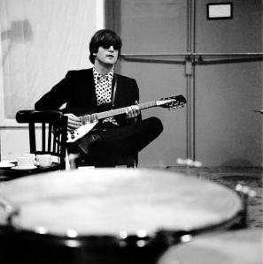 John 77 - John Lennon in studio, 1964.