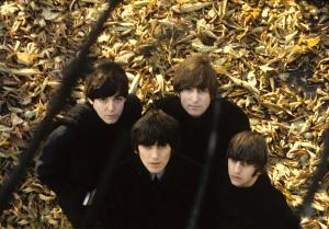 Beatles 62 - 1964 the Beatles are in studio recording several songs for their forthcoming album 'Beatles for Sale'.