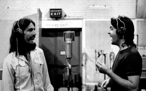Paul e George 12 - abbey road